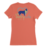 Dogs and Wine Border Collie V-Neck