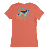 Coffee and Dogs German Shepherd V-Neck