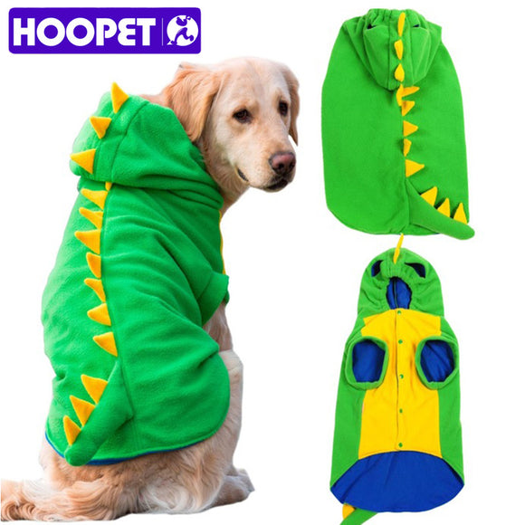 Large Dog Dinosaur Halloween Costume