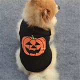 Pumpkin Dog Vest Pet Puppy Clothes Cotton shirts Warm Coats Outfit Halloween Party Costumes Dog Clothing 21