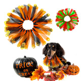 Pet Dog Cat Accessories Halloween Christmas Collar Dogs Cats Scarf Costume With Bell Pumpkin Pet Accessories