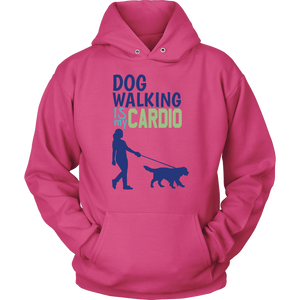 Dog Walking is My Cardio Rottweiler Hoodie
