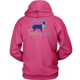 Who Rescued Who Border Collie Hoodie