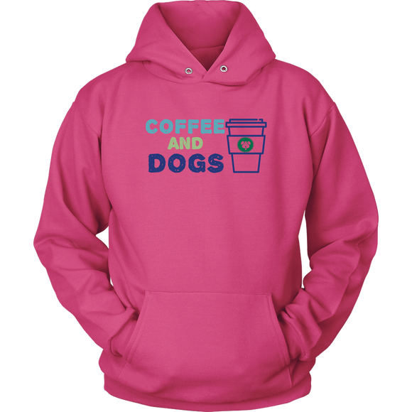 Coffee and Dogs Yorkie Hoodie