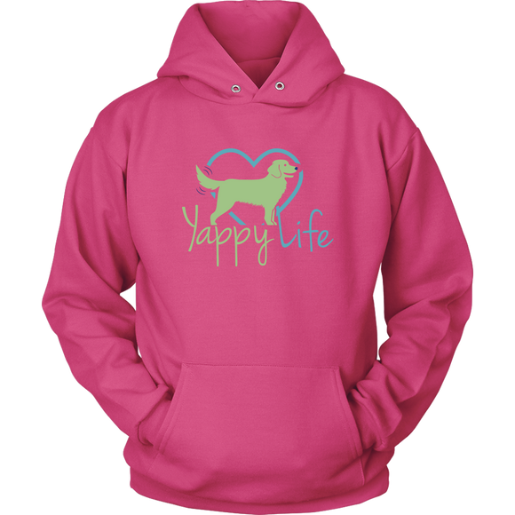 Yappy Life Golden Retriever Hoodie