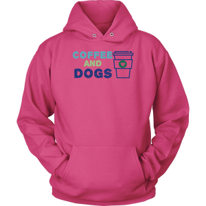 Coffee and Dogs German Shepherd Hoodie