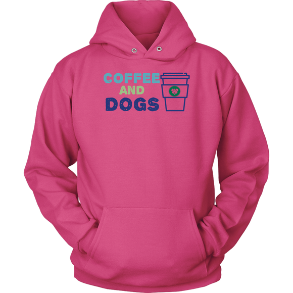 Coffee and Dogs Aussie Hoodie