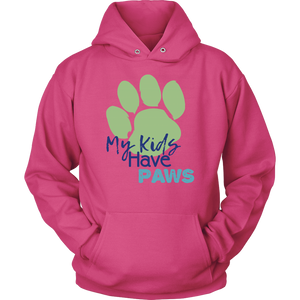 My Kids Have Paws Frenchie Hoodie
