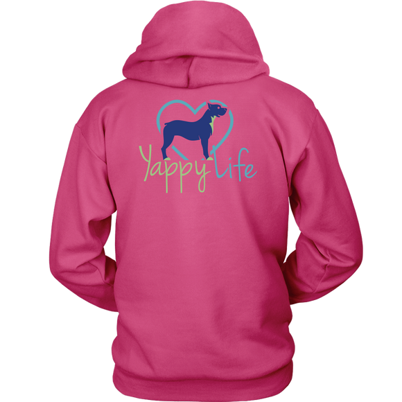 Who Rescued Who Pitbull Hoodie