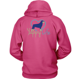 Who Rescued Who Rottweiler Hoodie