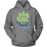 My Kids Have Paws Pitbull Hoodie
