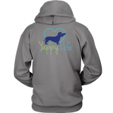 Who Rescued Who Dachshund Hoodie