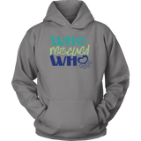 Who Rescued Who Golden Retriever Hoodie