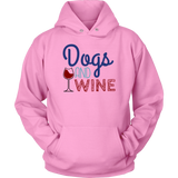 Dogs and Wine German Shepherd Hoodie