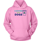 Coffee and Dogs Dachshund Hoodie