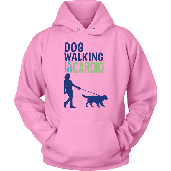 Dog Walking is My Cardio Chihuahua Hoodie