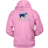 Who Rescued Who Bulldog Hoodie