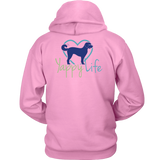 Dogs and Wine Labradoodle Hoodie