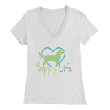 Yappy Life Golden Retriever V-Neck