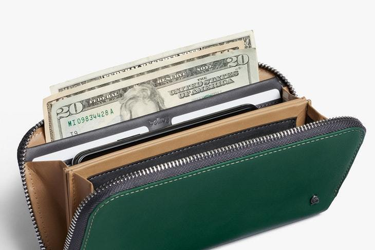 Bellroy Folio Wallet - Racing Green