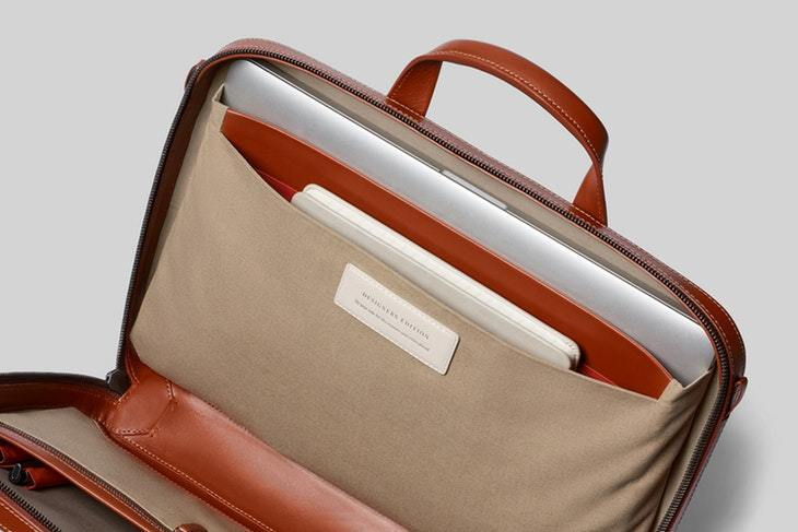Bellroy Laptop Brief - Designers Edition - Burnt Sienna