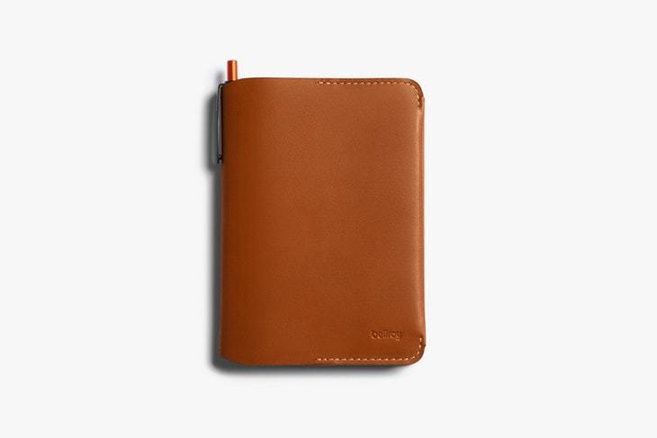 Bellroy Notebook Cover Mini and Pen - Caramel