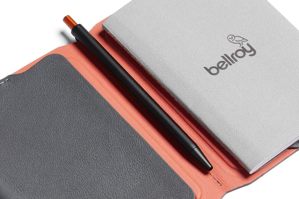 Bellroy Notebook Cover Mini & Pen - Graphite
