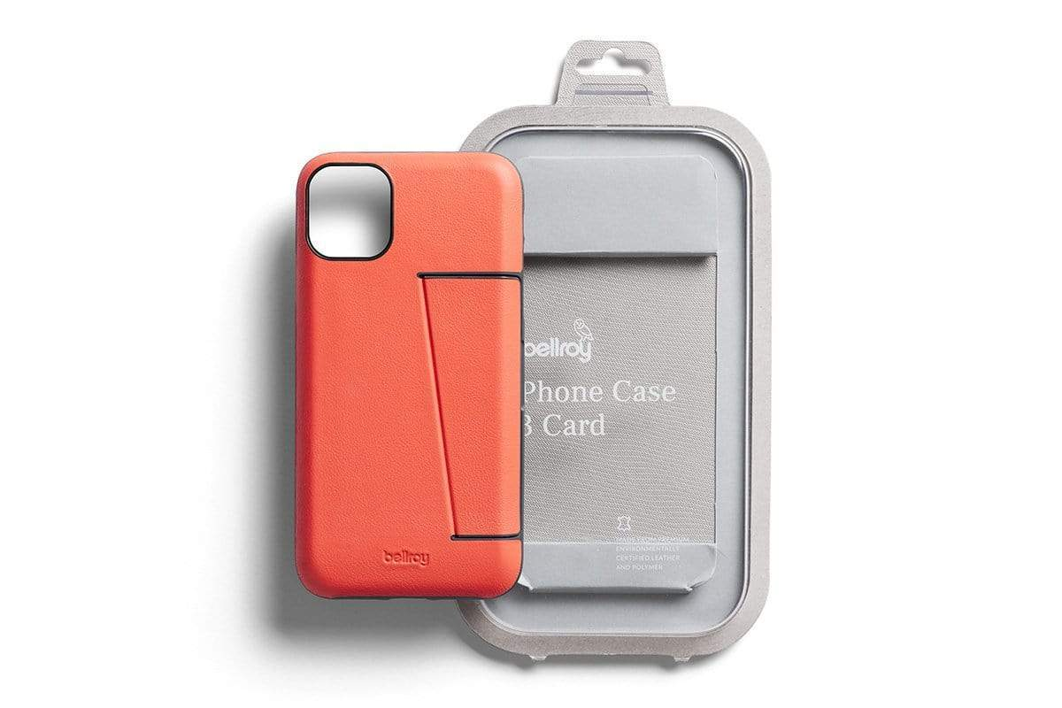 "Bellroy Phone Case - 3 card iPhone 11 Pro (5.8"") - Coral"