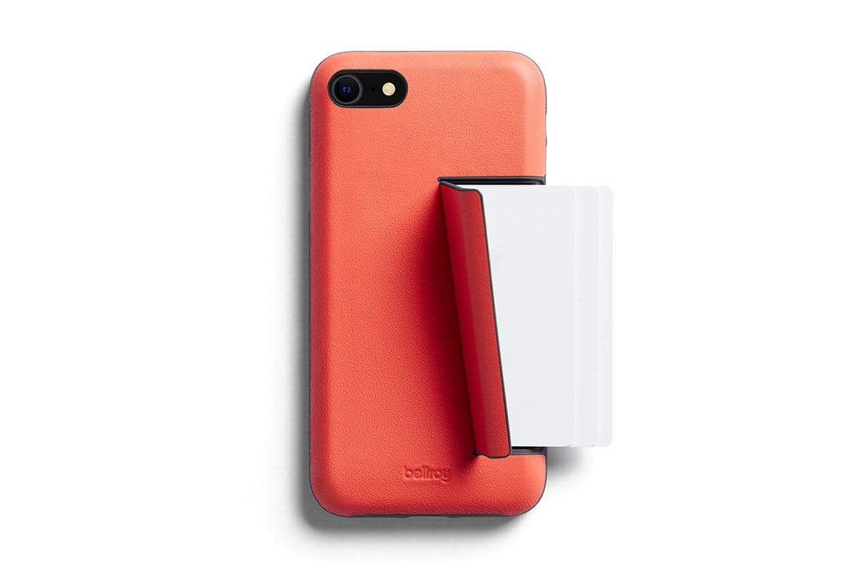 Bellroy Phone Case - 3 card iPhone SE - Coral