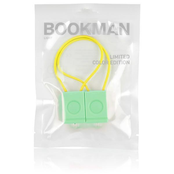 Bookman LED biciklis lámpa szett - Sea Green