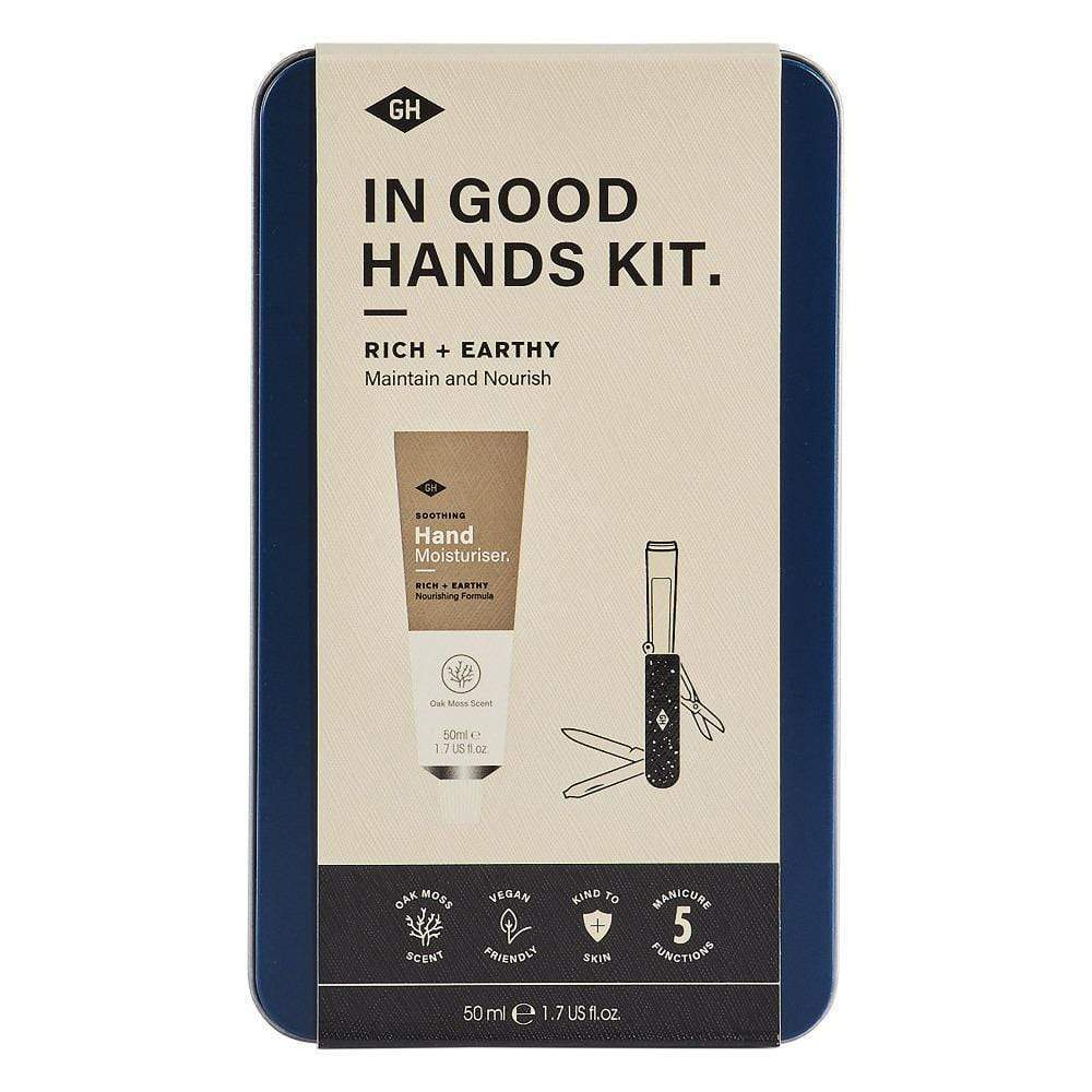 Gentlemens Hardware In Good Hands Kit - kézápoló készlet