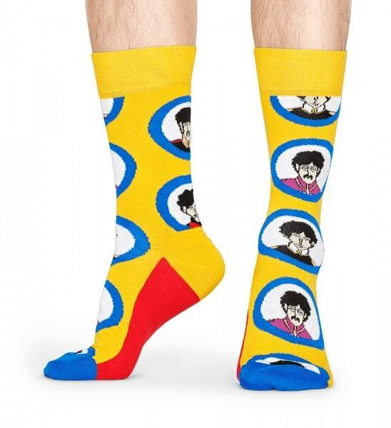 Happy Socks x THE BEATLES Socks Box Set - Zokni szett dobozban