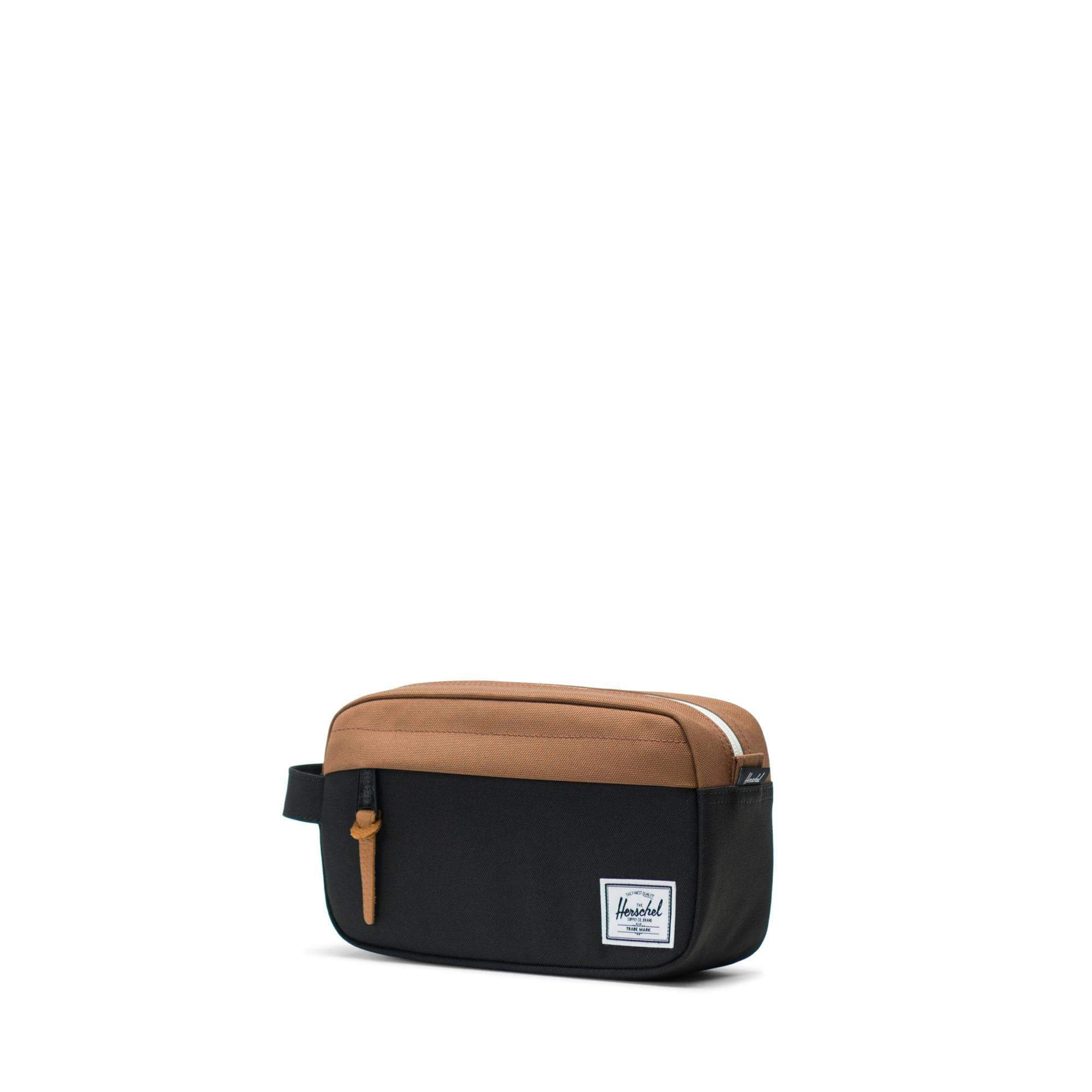 Herschel Chapter Carry On Black/Saddle Brown Neszeszer