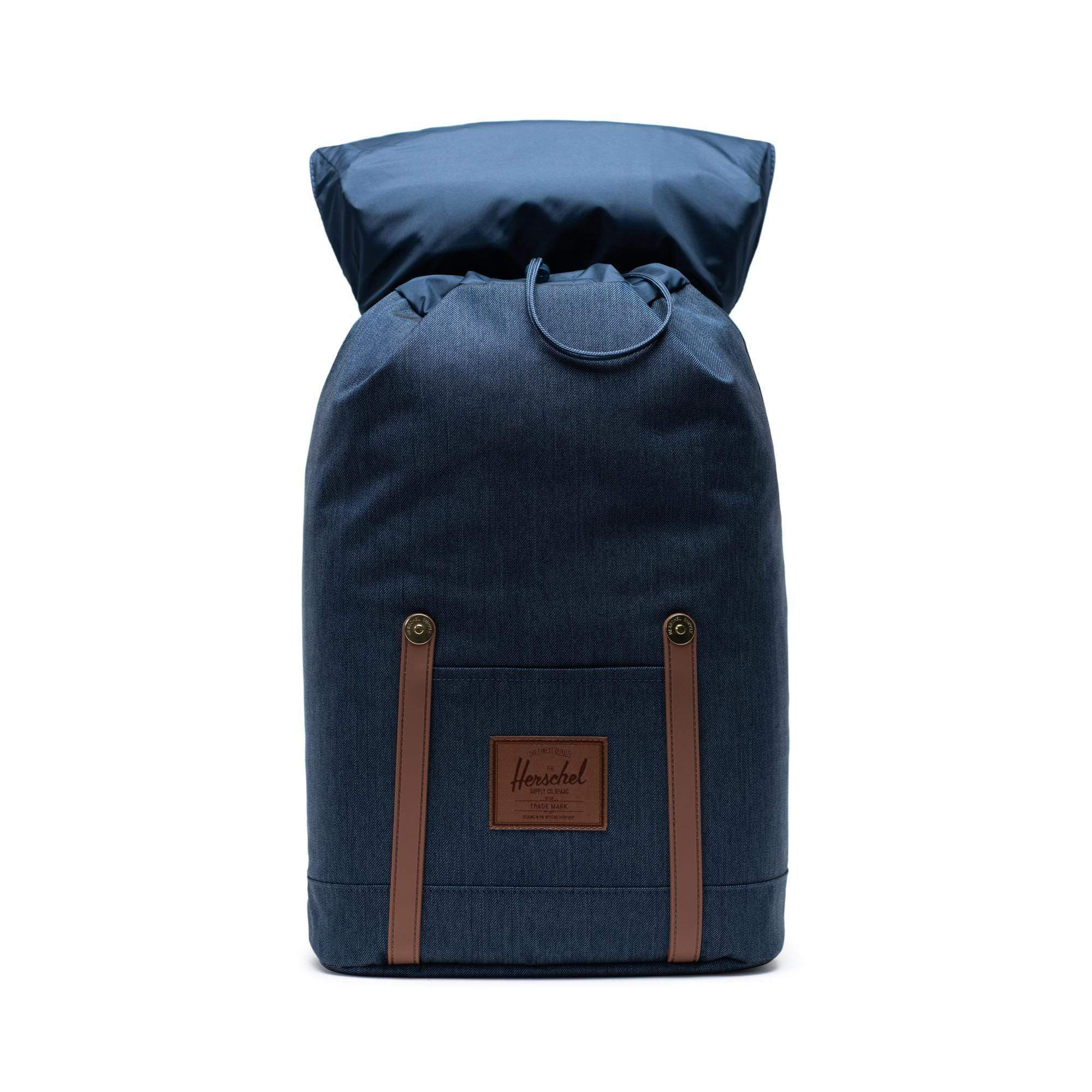 Herschel Retreat Indigo Denim Crosshatch Hátizsák