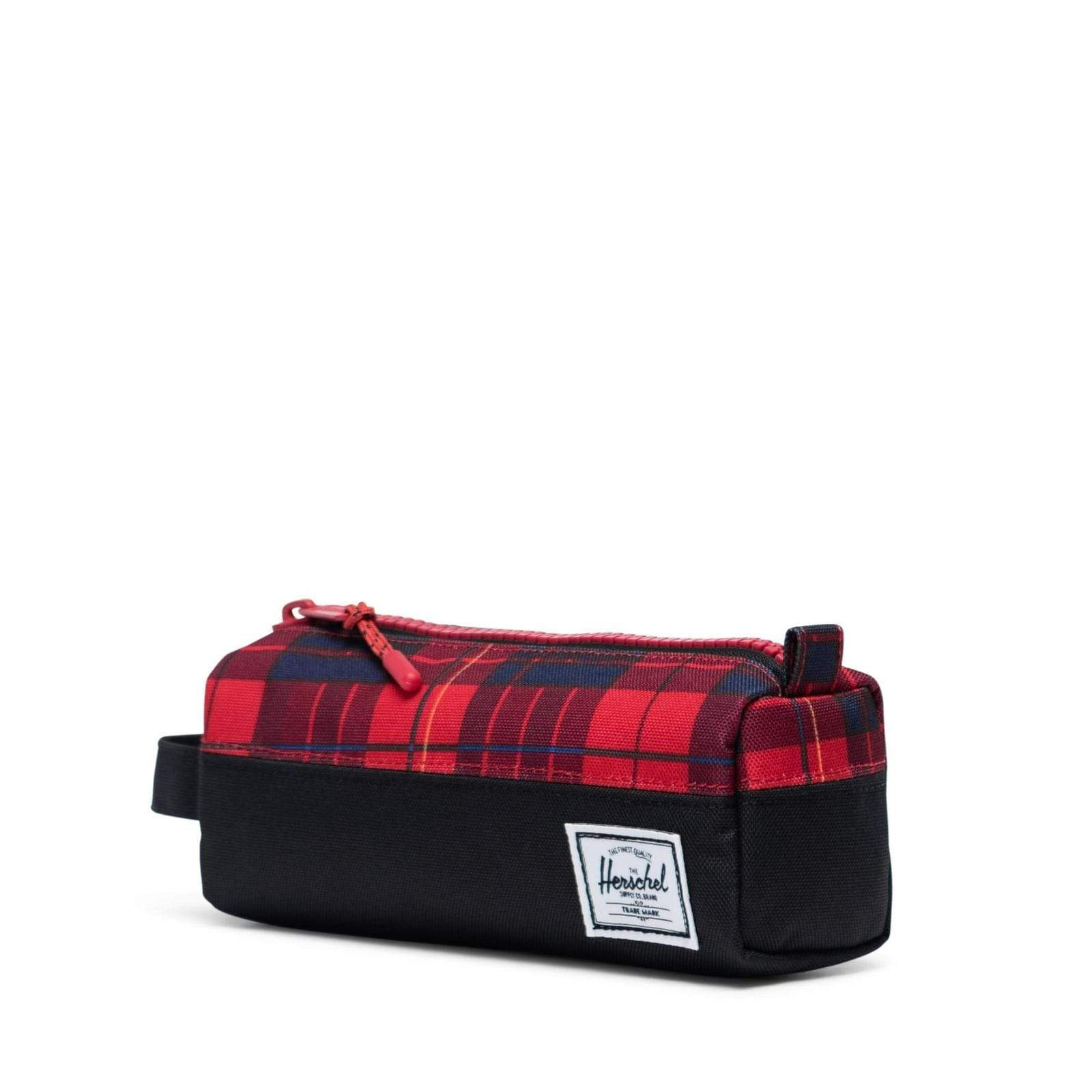 Herschel Settlement Case Black/Winter Plaid tolltartó