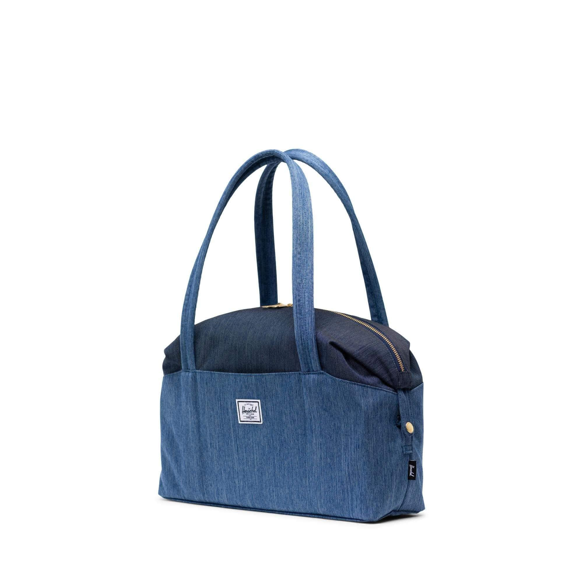Herschel Strand S Faded Denim/Indigo Denim táska