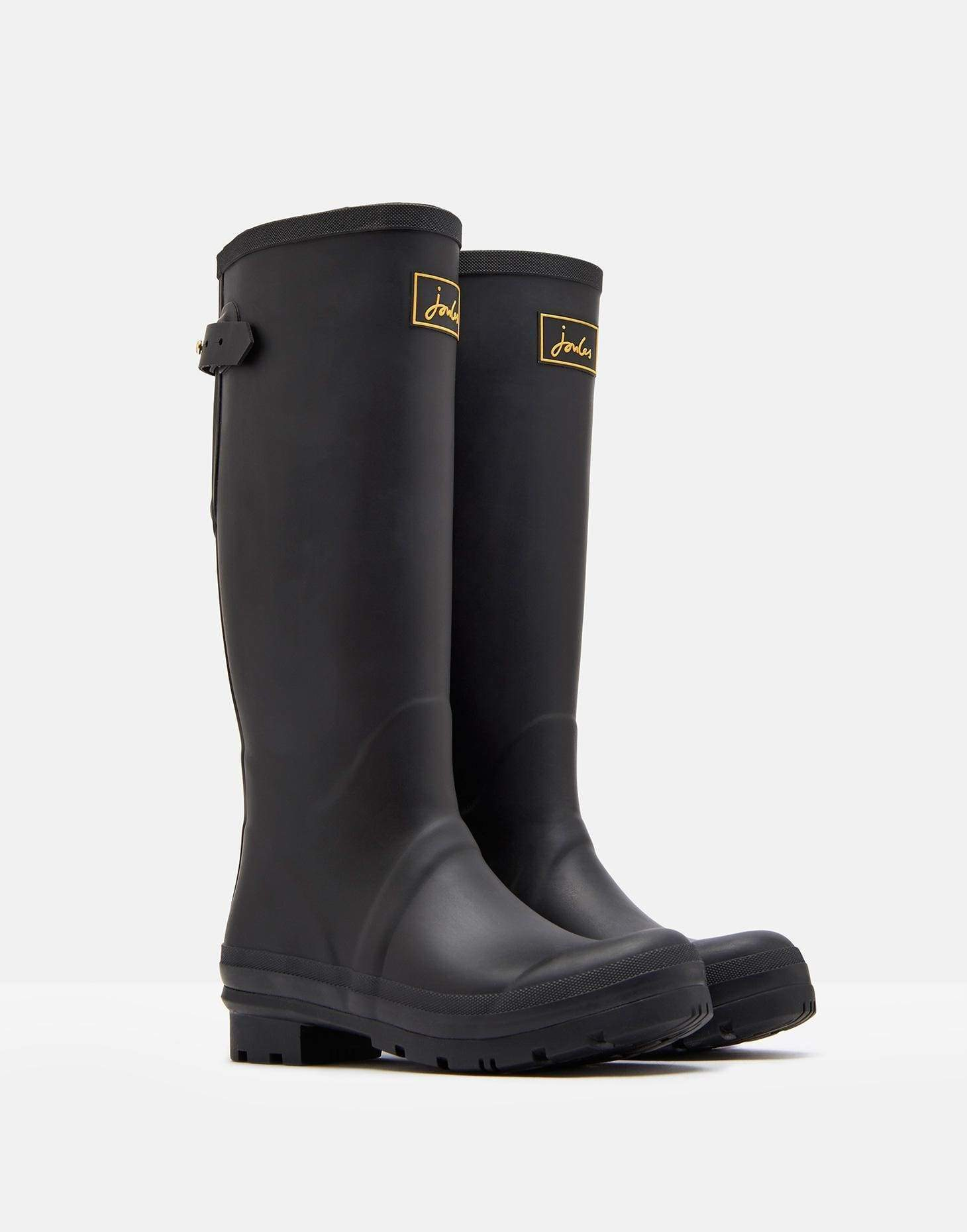 Joules Field Welly True Black Női gumicsizma