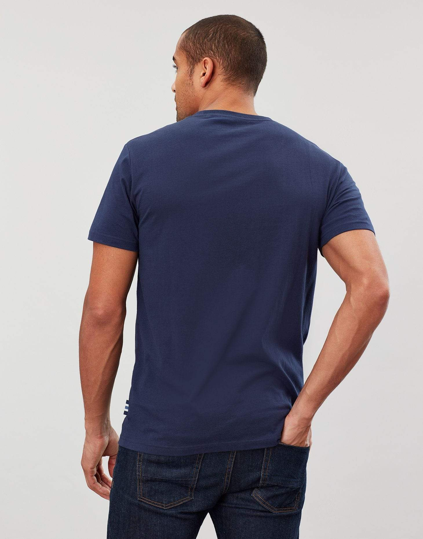 Joules Flynn French Navy férfi t-shirt