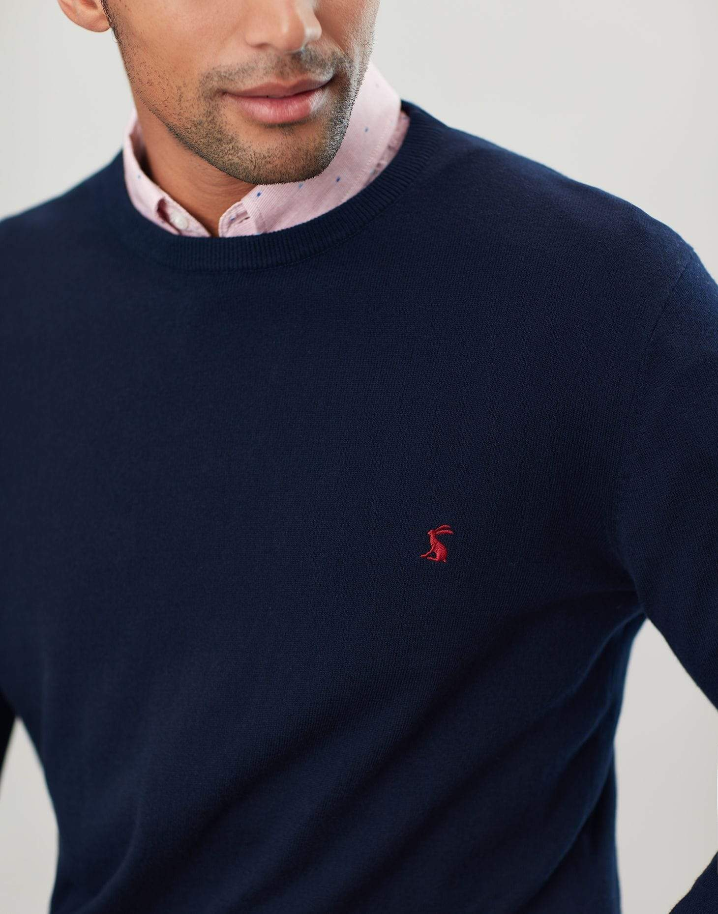 Joules Jarvis French Navy férfi Pulóver