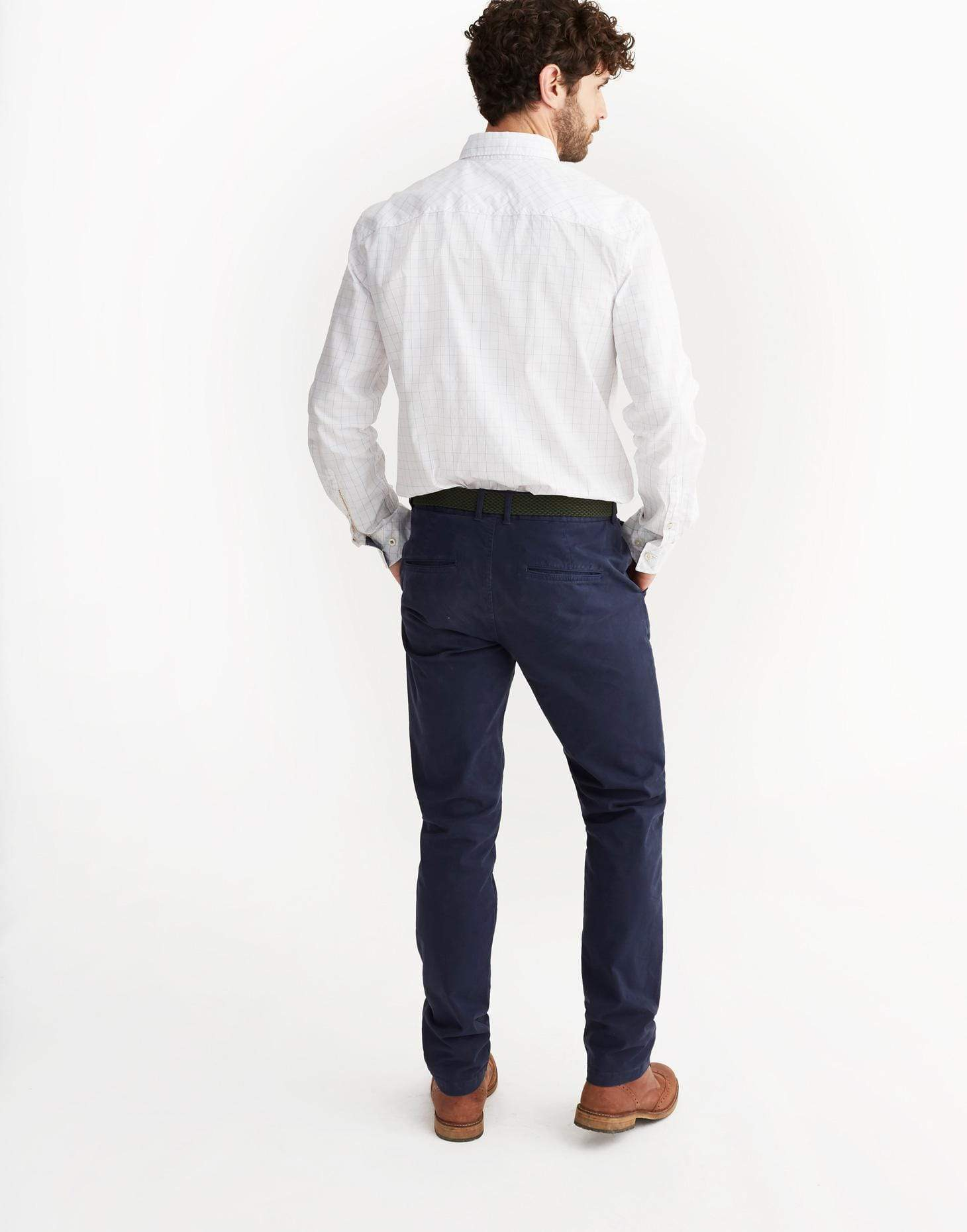 Joules Launchino French Navy Férfi chino nadrág