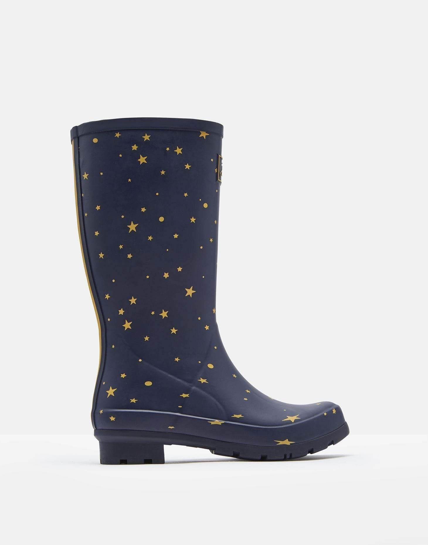 Joules Roll Up Welly Star Gazing Női Gumicsizma