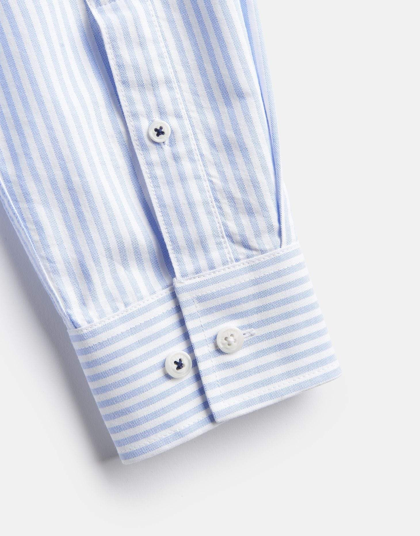 Joules The Laundered Oxford Shirt Blue Stripe Férfi ing