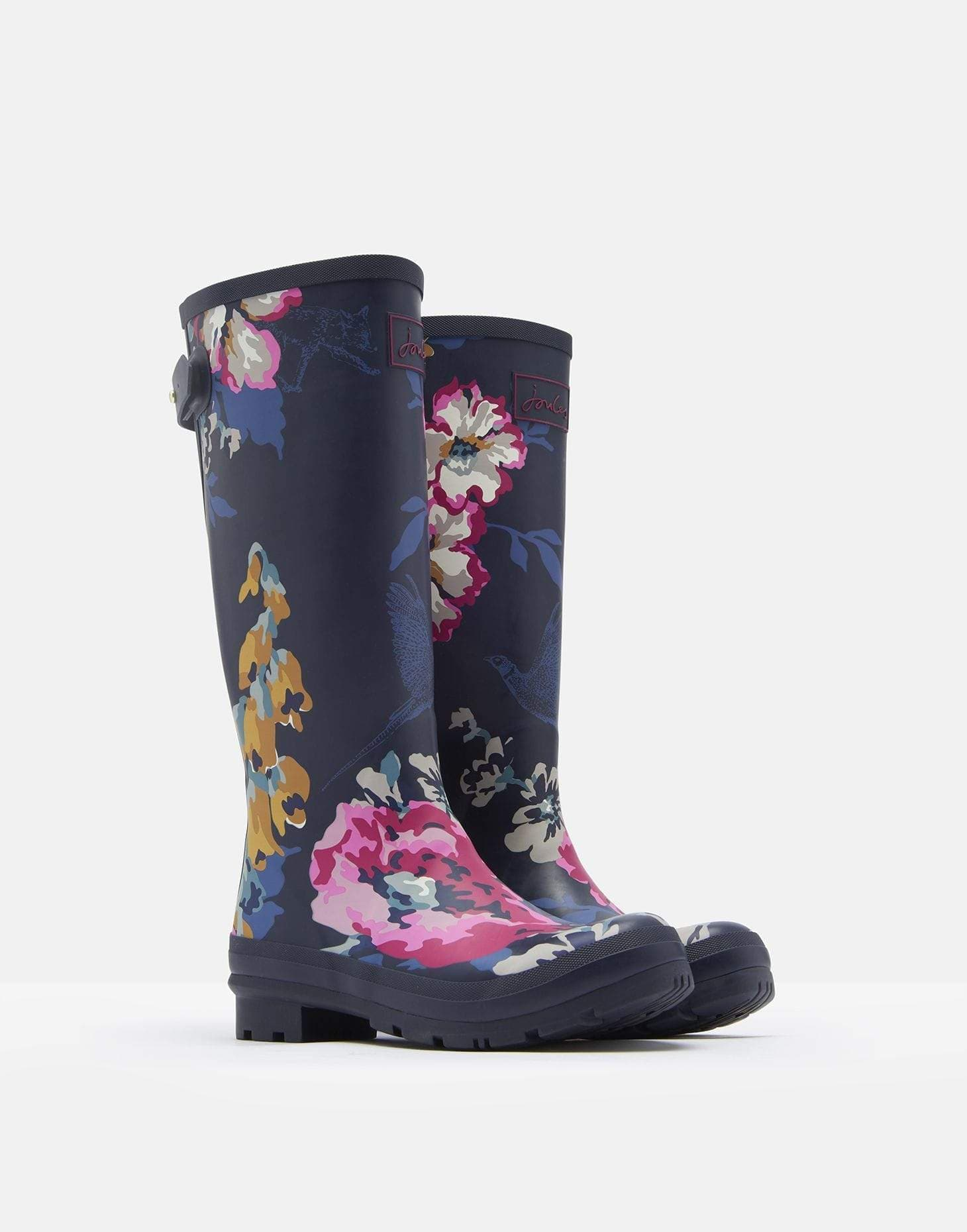 Joules Welly Print Anniversary Floral Női gumicsizma