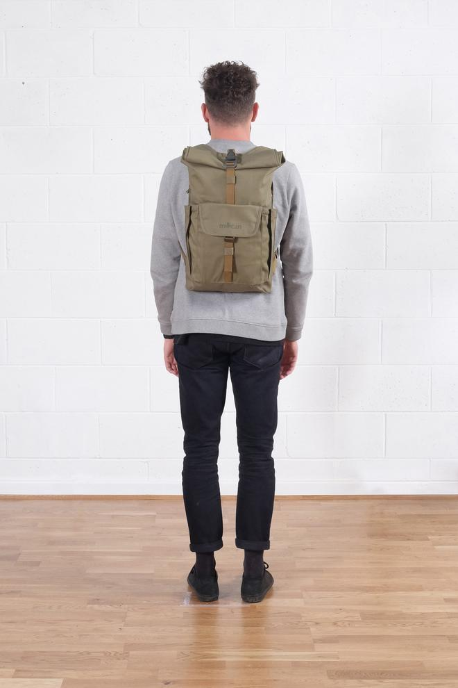 Millican Smith the Roll Pack 15L - With Pockets - Moss