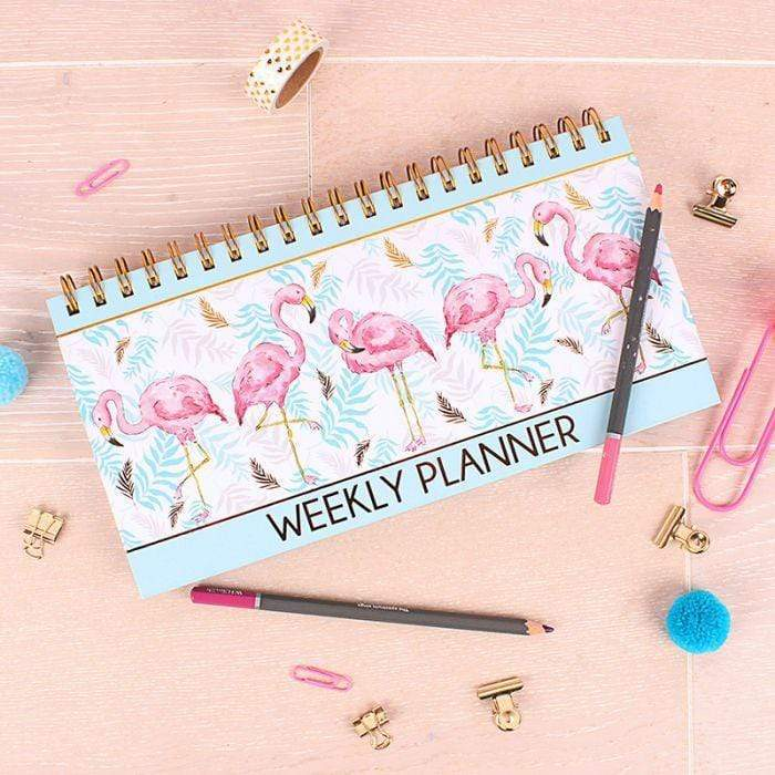 Milly Green Flamingo Weekly Planner