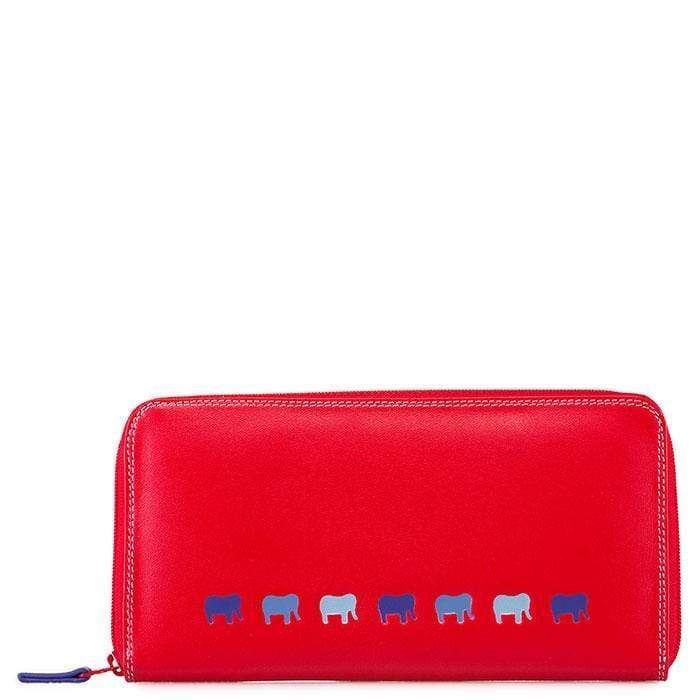 Mywait Lucca Zip Around Purse - Royal