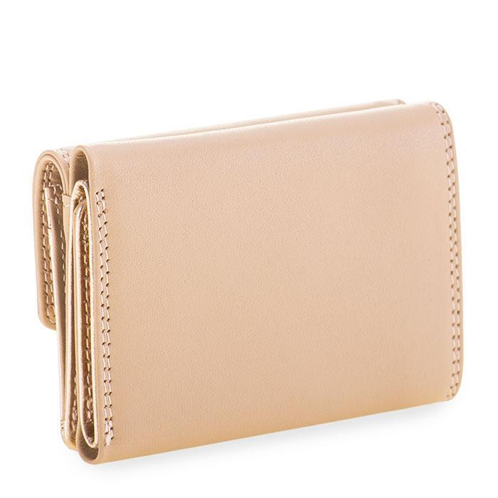 Mywait Tri Fold Purse/Wallet - Rose Gold Foil Metallic