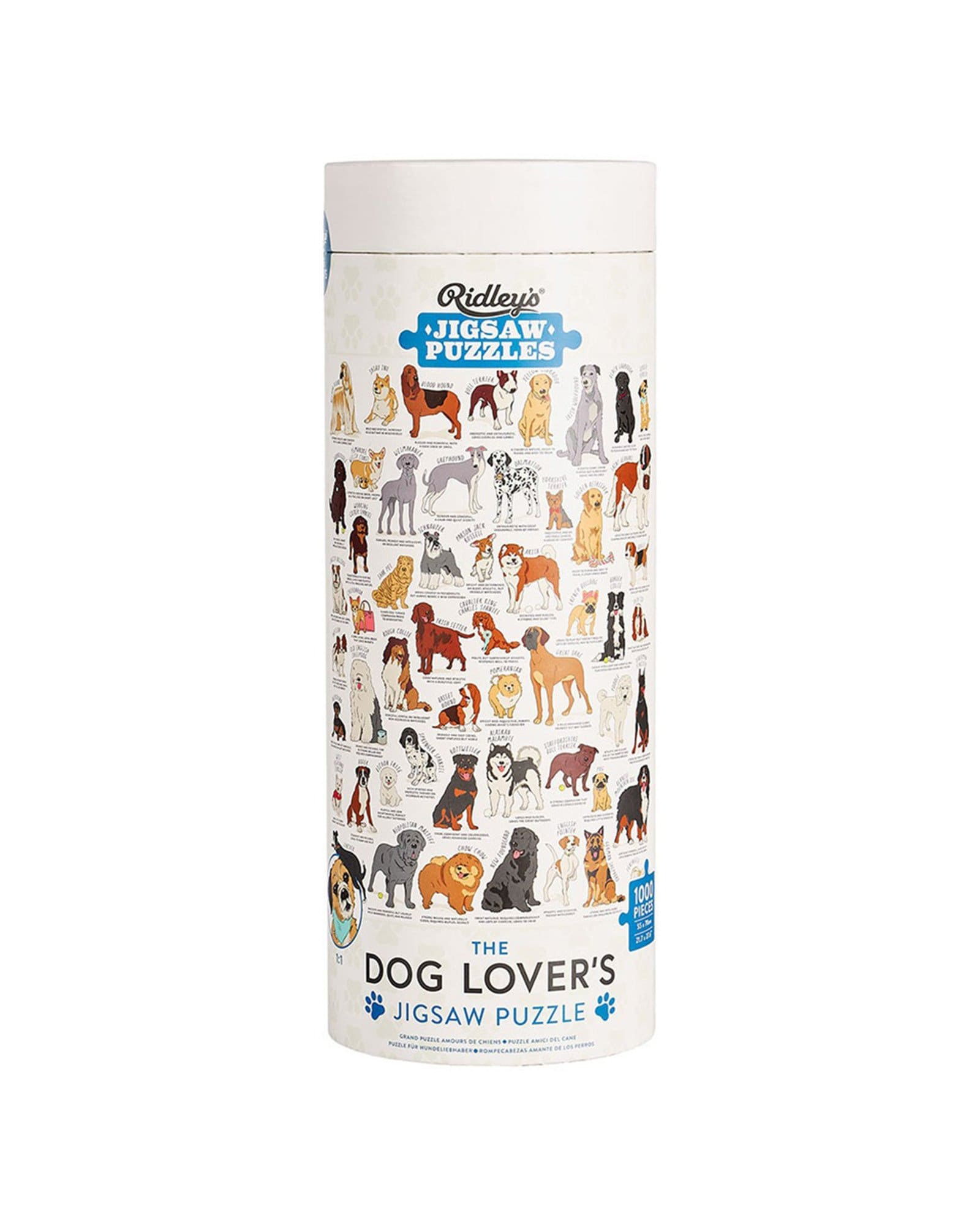 Ridley's 1000 darabos Puzzle - Dog Lovers