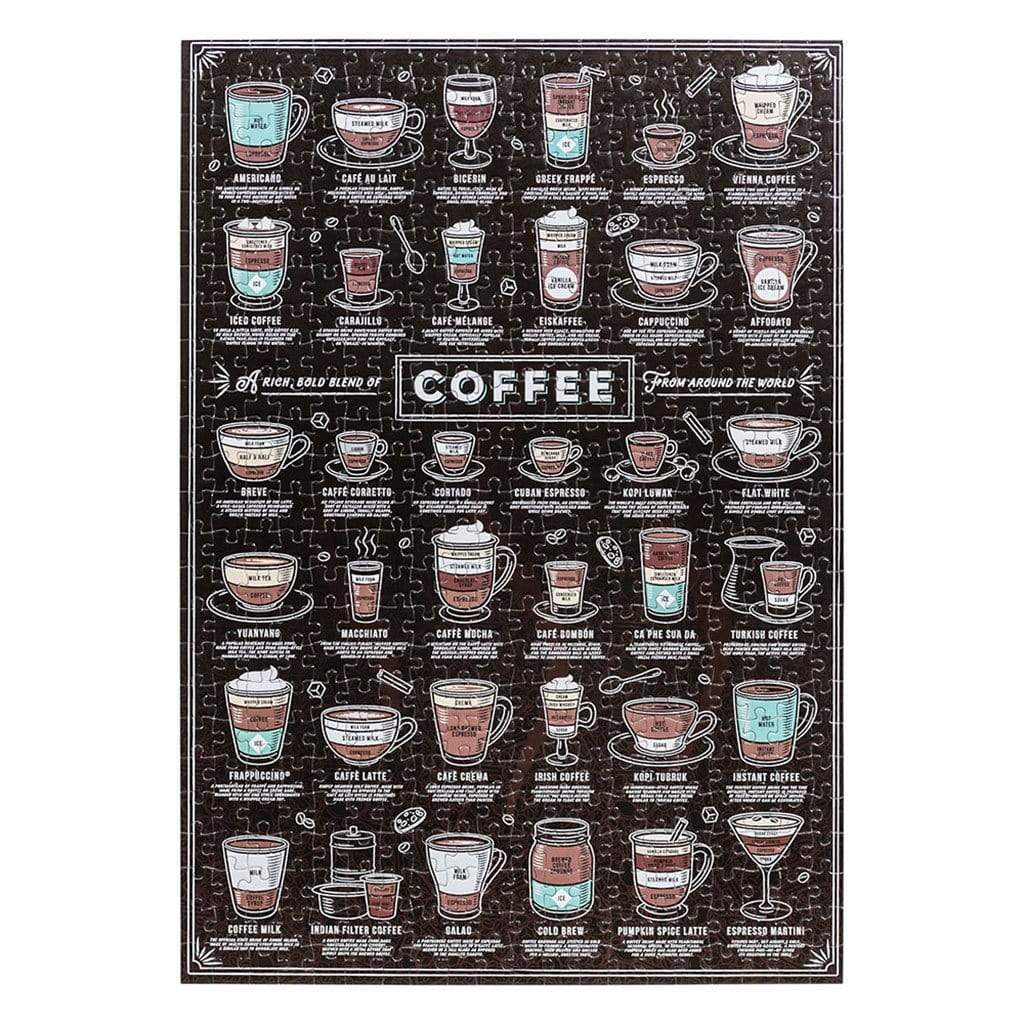 Ridley's 500 darabos Puzzle - Coffee Lovers