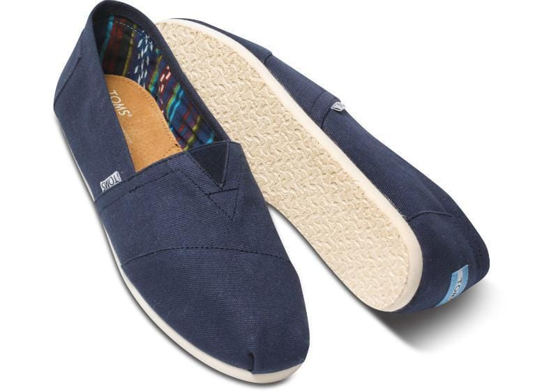 TOMS Women's Classics  - Navy Canvas